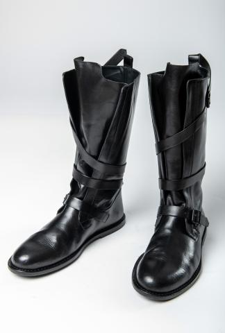 Ann Demeulemeester Loop Belt High Boots