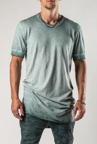 Boris Bidjan Saberi TS1RF Patina Blue T-shirt