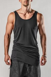 11byBBS T1B Elongated Ribbed Tank Top