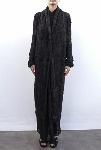Isabel Benenato Long Knit Dress/Cargigan