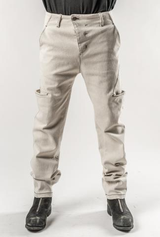 Andrea Ya'aqov Contrast Stitch Cargo Trousers