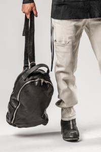 Guidi W3 BLKT Soft Horse One-strap Double Zipper Backpack