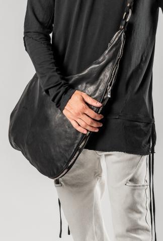 GUIDI SZ01 Iconic Grand Tote Zipped Bag (Blkt Soft Horse)