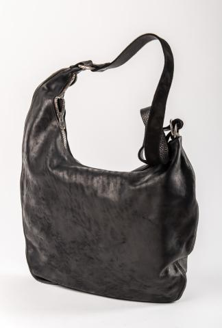 Guidi SZ01 Iconic Grand Tote Zipped Bag (Blkt Soft Horse)