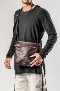 GUIDI Q08 Small Belt Bag (Burgundy soft horse)