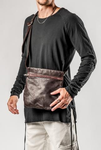 Guidi Q08 Small Belt Bag (Burgundy soft horse)