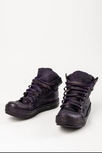 James Kearns Reversed Horse Leather High-top 8Hole LB Sneakers