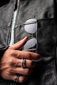 Werkstatt Munchen x Boris Bidjan Saberi Sterling Silver Glasses, M0598