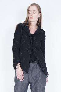 Simona Tagliaferri Embroidered Hook Closure Blazer
