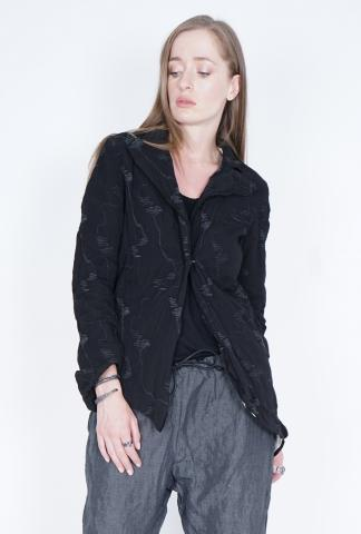 Simona Tagliaferri Embroidered Hook Closure Blazer