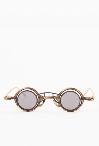 Rigards RG0104CU Mad Scientist Patina Copper Sunglasses