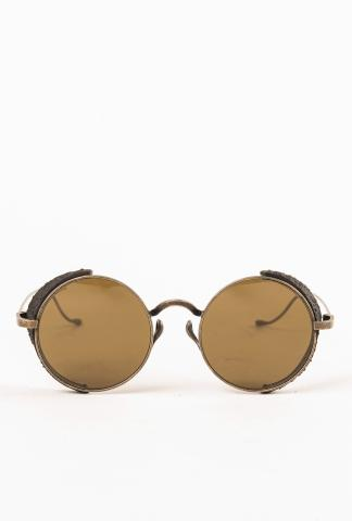 RIGARDS VINTAGE BLACK MATTE BRONZE STST SUNGLASSES