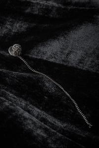 Ann Demeulemeester Chain Knot Earring