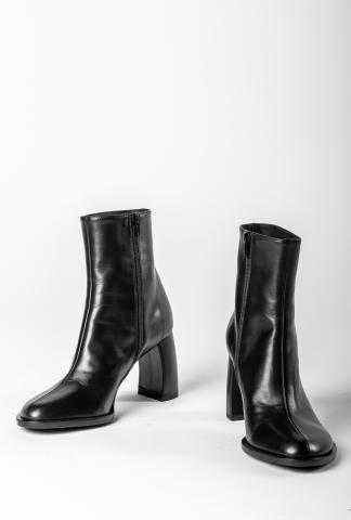 Ann Demeulemeester Curved Heel (Vitello Nero)