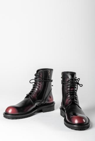 Ann Demeulemeester Combat Boots (Abrasivato)