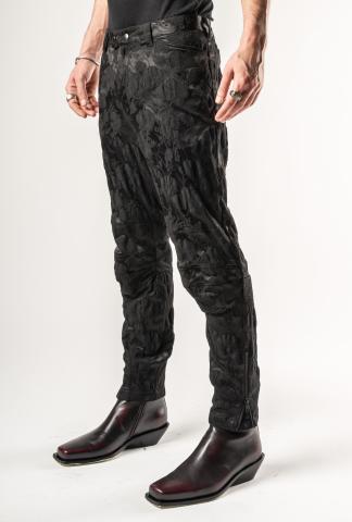 Ann Demeulemeester Biker Trousers (Sadie Black)