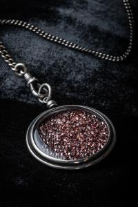 Ann Demeulemeester Rose Swarovski Necklace