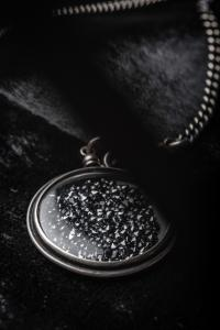 Ann Demeulemeester Black Swarovski Necklace