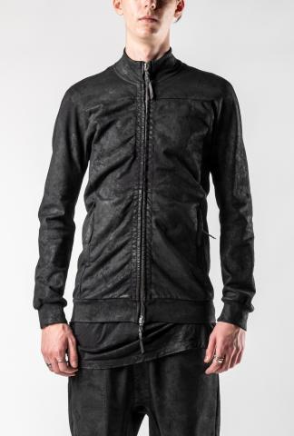 11byBBS FUT1 Black Dye Zipped Sweater