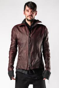 Leon Emanuel Blanck Forced Perspective Soaked Leather Jacket