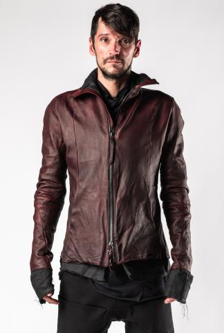 Leon Emanuel Blanck Forced Perspective Soaked Leather Jacket