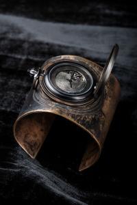 FOB Paris  Bronze HEX Cuff / 40 Hex torch
