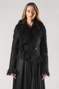 Ann Demeulemeester Short Reversible Fur Jacket