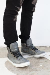A1923 SSN4 Grey Oil Cavallo Sneakers