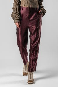 Phaédo Studios Silk Blend Tapered Trousers