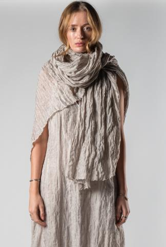 UN-NAMABLE pale pink scarf