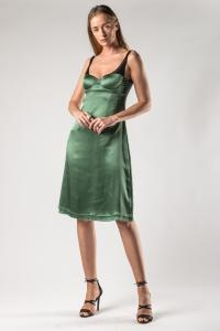 "Ianua ""Dallas"" integrated Bra Slip Dress"