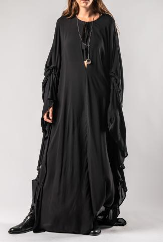 Ann Demeulemeester DRESS EWING BLACK