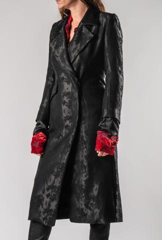 Ann Demeulemeester Flower imprinted Coat (Minerva + Nanette)