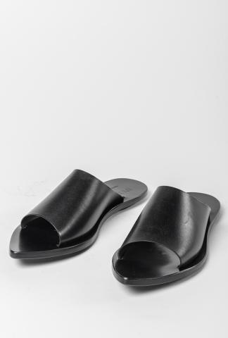 Ulysses by Dimissianos & Miller Pointy Leather Sandals