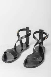 ULYSSES Crossed-over Sandal with ankle strap