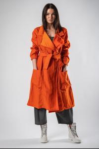 Lurdes Bergada Belted Trench Coat