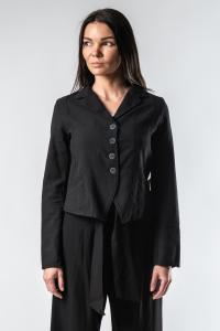 Lurdes Bergada Textured Cropped Blazer