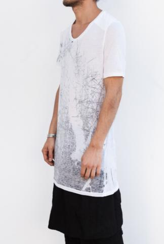 JULIUS_MA 460CUM17 T-SHIRT WHITE