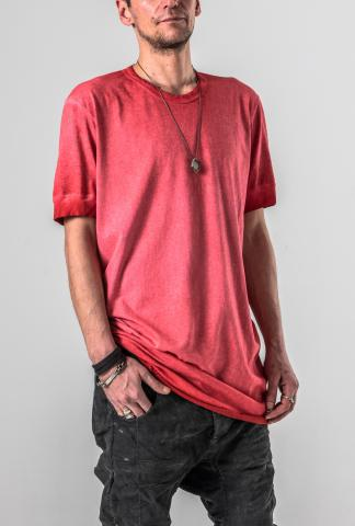 Boris Bidjan Saberi TS1RF Reverse Cold Dyed T-shirt