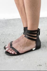 Marsell Black colour high top sandal