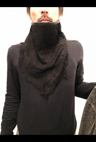 Destroyed Deer Leather Shawl