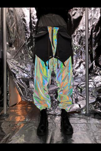Iridescent Cargo Trousers
