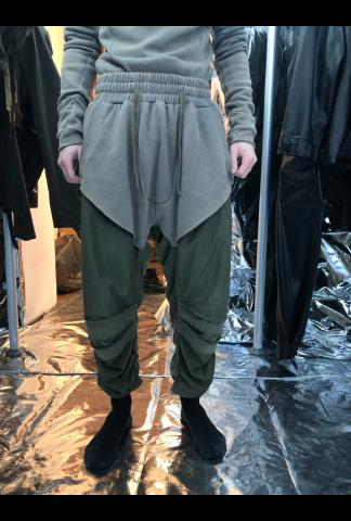 Two-fabric Joggers