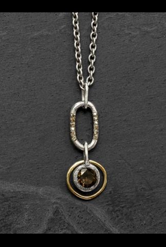 Tobias Wistissen Pendant Gold Ring Necklace