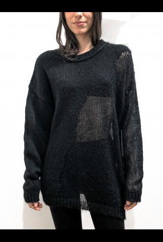 Isabel Benenato Double Gauge Crew Neck (copy)