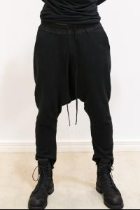 JULIUS_7 Loose Drawstring Drop Crotch pants