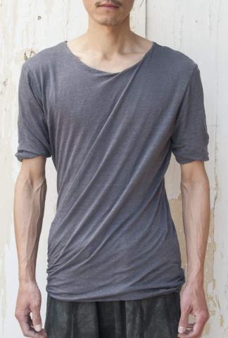 Lumen Et Umbra Double layer reversible twister T-shirt
