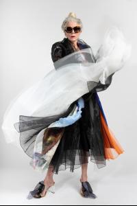 QUETCHE artisanal bride coat