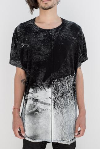 MA_Julius Print white t-shirt
