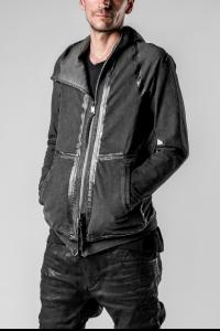 Boris Bidjan Saberi ZIPPER2 Seam Taped, Reversible Ninja Hoodie
